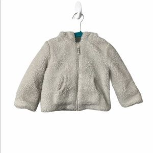 ☀️Joe Fresh toddler coat with bear ears - 12-18m